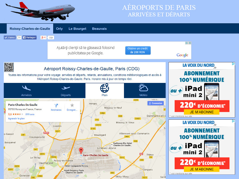 Airports of Paris