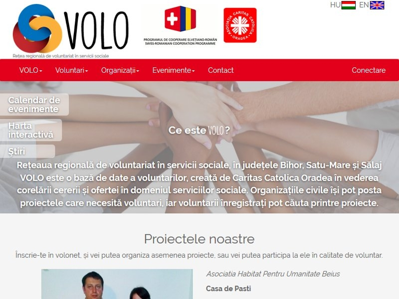 Volonet - the volunteer network